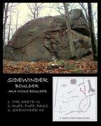 Rock Climbing Photo: Sidewinder Boulder.