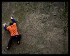 Rock Climbing Photo: Off the Bench.
