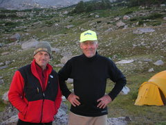 Rock Climbing Photo: Hanging in August 2009 East Fork Valley with the A...