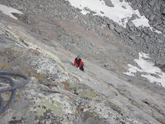 Rock Climbing Photo: Following the wild 3rd Pitch of Son Of Raid