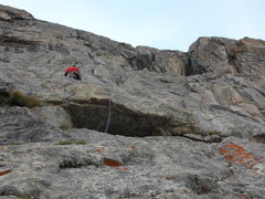 Rock Climbing Photo: The 4th Pitch of Son Of Raid