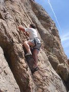Rock Climbing Photo: leading Flash for Hash  photo by Taylor Pearce