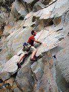Rock Climbing Photo: Start of Holy Crap