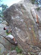 Rock Climbing Photo: Tower Block. Boulder Canyon