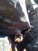 Rock Climbing Photo: This was our first beta. much easier to  use a hee...