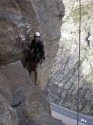 Rock Climbing Photo: Heading down...