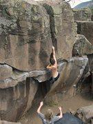 Rock Climbing Photo: turnin' it