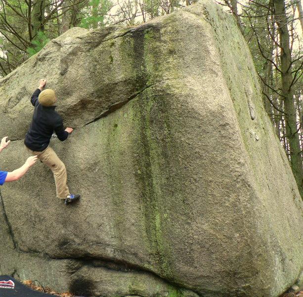 Rock Climbing Photo: Two Step.
