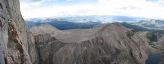 Rock Climbing Photo: Panorama from Table Ledge.  We were the only party...