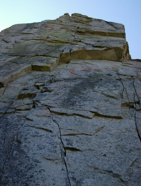 Rock Climbing Photo: One Of These Days, 5.10c