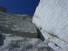 Rock Climbing Photo: A very nice step across finish- reminiscent of the...