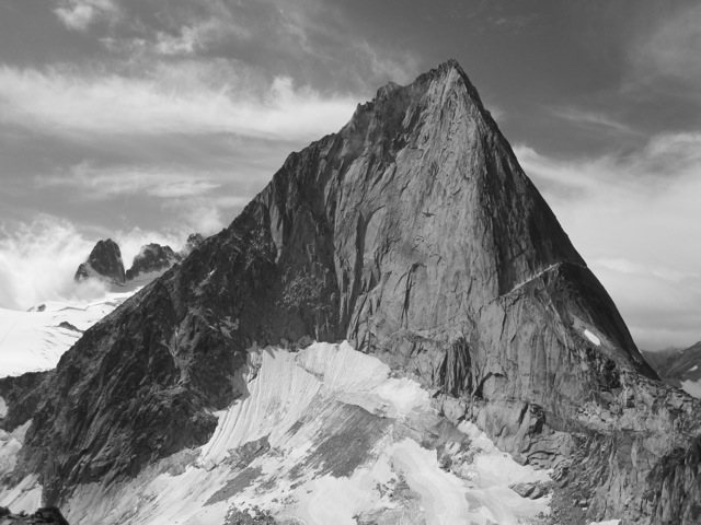 Rock Climbing Photo: Bugaboo B&W