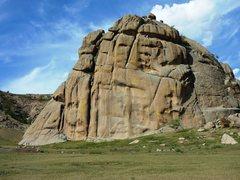 Rock Climbing Photo: The Biggest Block.