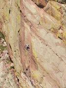 Rock Climbing Photo: Naked Edge, 1st pitch