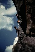 Rock Climbing Photo: Last pitch profile