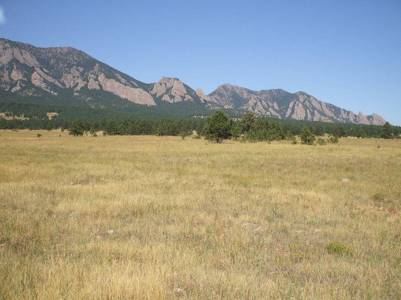 Rock Climbing Photo: The Flats