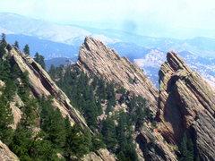 Rock Climbing Photo: The Flatirons