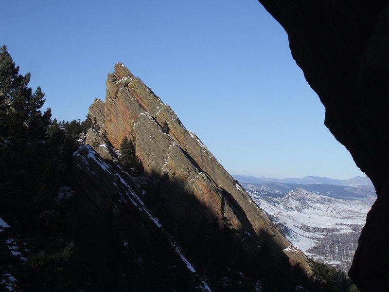 Rock Climbing Photo: Royal Arch
