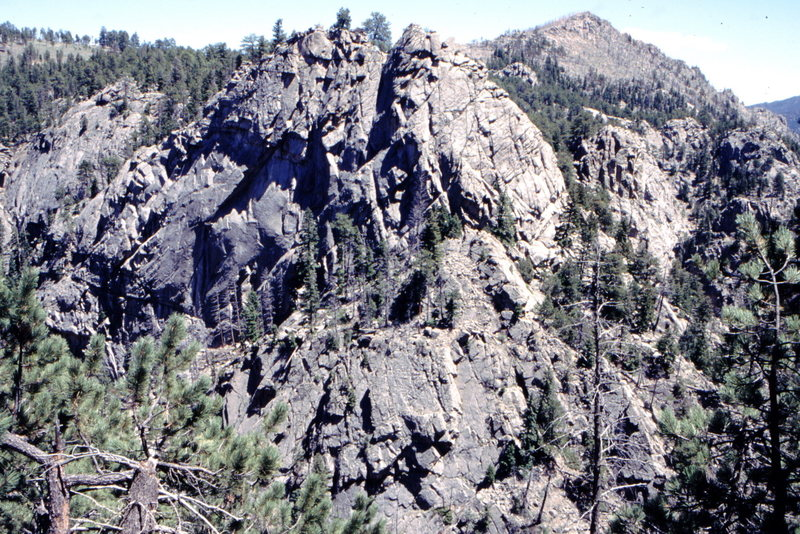 Rock Climbing Photo: Lost Angel Formation, Upper Dream canyon