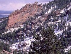 Rock Climbing Photo: Bear Canyon