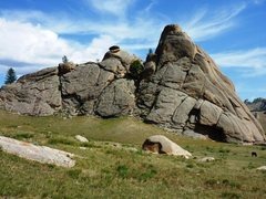 Rock Climbing Photo: Teepee rock.