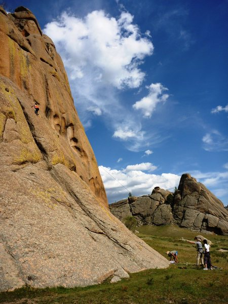 Rock Climbing Photo: Good kids.