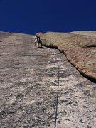 Rock Climbing Photo: Flake Route pitch 2.