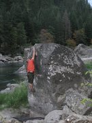 Rock Climbing Photo: for us little guys, the leap is quite sizable :)