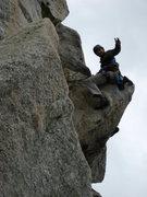 Rock Climbing Photo: traitor horn!
