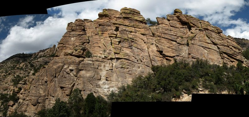Rock Climbing Photo: Chimney Rock