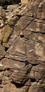 Rock Climbing Photo: Below the crux
