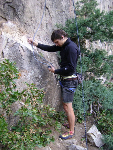 Rock Climbing Photo: the front porch