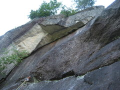 Rock Climbing Photo: The Bridge of Khazad-Dûm proper. Great exposure! ...