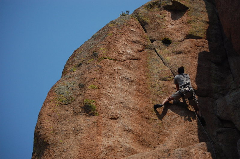 Rock Climbing Photo: Julian Poush on Climbs of Passion.