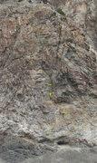 Rock Climbing Photo: 7 Bad Bananas 5.11d PG13