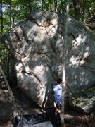 Rock Climbing Photo: Just left of firepole