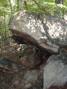 Rock Climbing Photo: blacksburg roof right