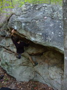 Rock Climbing Photo: Up and Over