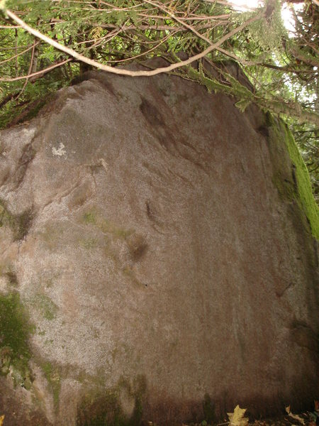 Rock Climbing Photo: Far Slab.  Purple Haze traverses the arete, 420 sl...