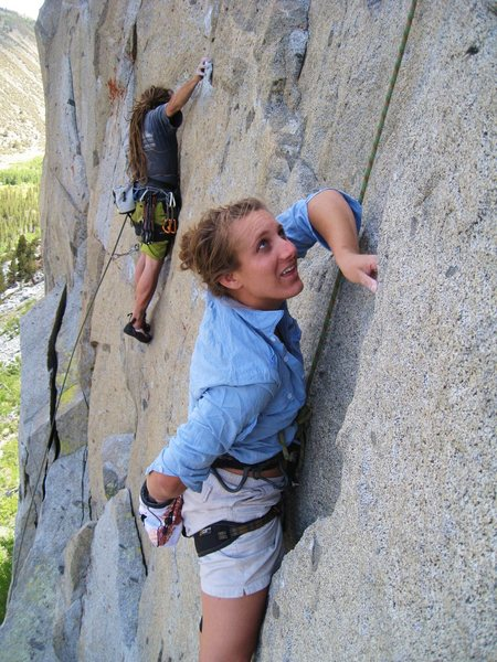Rock Climbing Photo: Rock Creek up near Mammoth