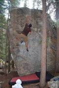 Rock Climbing Photo: Got the poor intermediate while my kid is coming t...