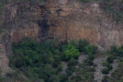 Rock Climbing Photo: The Main Amphitheater, Right Wall, and Double Clut...