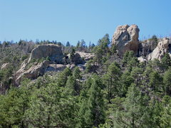 Rock Climbing Photo: Picture of The Steep and Not So Steep taken from a...