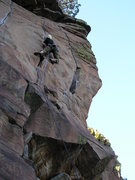 Rock Climbing Photo: Flex on Middle Trinity