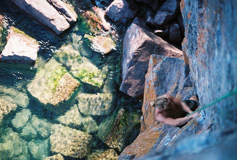 Rock Climbing Photo: SteveZ, 8/2008