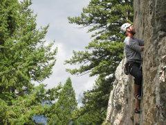 Rock Climbing Photo: Blacktail Butte.