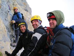 Rock Climbing Photo: summit for someone friends on the second pitch of ...