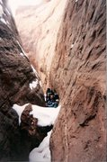 Rock Climbing Photo: Robbers Roost with Dallen Ward, Craig Lutke, Kathr...