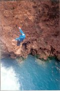 Rock Climbing Photo: another lap in havasu