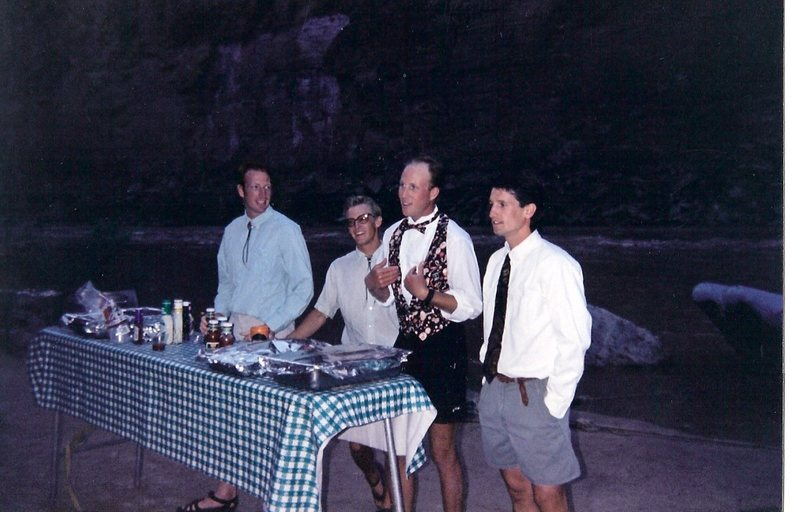 Ian Pugh, Joey Alter,Drew Reed and myself